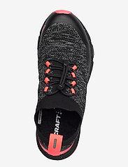 Craft - NORDIC FUSEKNIT W - running shoes - black/crush - 3