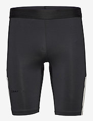 Craft - PRO HYPERVENT SHORT TIGHTS M - løbe- og træningstights - black/whisper - 0