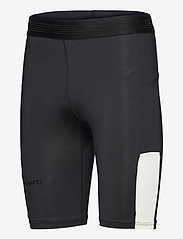 Craft - PRO HYPERVENT SHORT TIGHTS M - løbe- og træningstights - black/whisper - 2