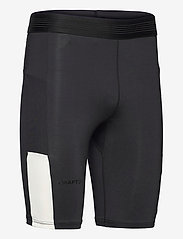 Craft - PRO HYPERVENT SHORT TIGHTS M - løbe- og træningstights - black/whisper - 3
