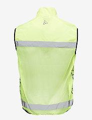 Craft - Active run safety vest U - virsjakas un lietusjakas - neon - 1