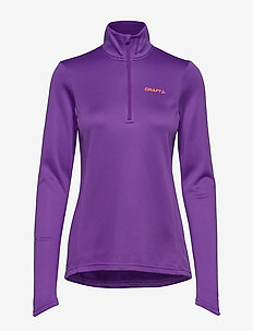 CRAFT SWIFT HALFZIP W SW.BLUE  - lilac