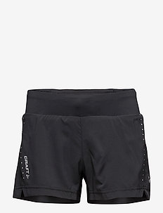 "ESSENTIAL 5"" SHORTS W - BLACK"