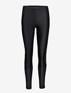 GRIT TIGHTS  - running & training tights - black