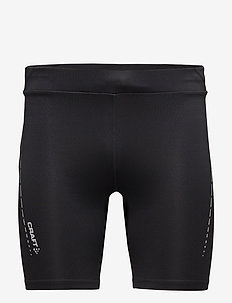 ESSENTIAL SHORT TIGHTS  - BLACK