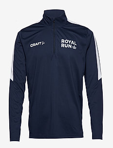 Royal Run Halfzip M - longsleeved tops - navy