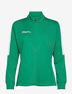 Progress Jacket W - bluzy i swetry - green