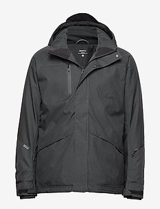 MOUNTAIN PADDED JKT M - BLACK MELANGE