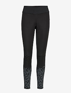 WARM TRAIN WIND TIGHTS W - BLACK/ASPHALT