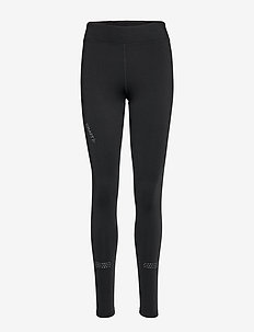 WARM TRAIN TIGHTS  - BLACK/ASPHALT
