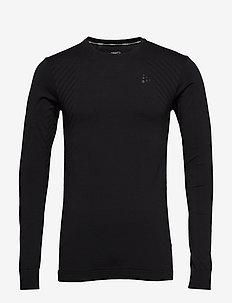 FUSEKNIT COMFORT RN LS  - bluzki z długim rękawem - black