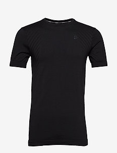 FUSEKNIT COMFORT RN SS  - topy sportowe - black