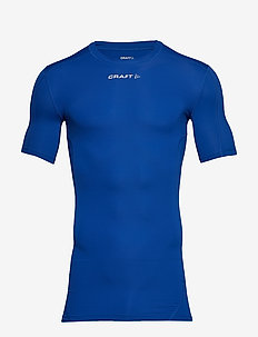 PRO CONTROL COMPRESSION TEE UNISEX - ROYAL