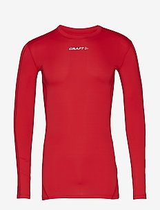 PRO CONTROL COMPRESSION LONG SLEEVE UNISEX - BRIGHT RED