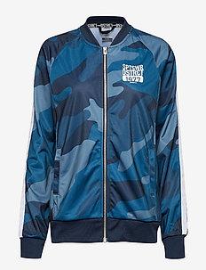 District (wct) jacket M - sportjacken - p melt blaze