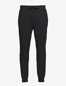 District crotch sweat pants M - BLACK