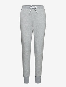 District crotch sweat pants W - GREY MELANGE