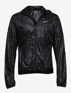 LUMEN WIND JKT M - P SHAPES/BLACK