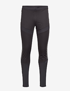 LUMEN SUBZERO WIND TIGHTS M - BLACK/SILVER