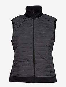 ZUBZ BODY WARMER W - training jackets - asphalt/black