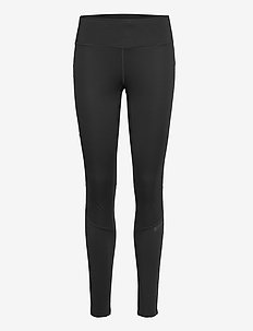 SUBZ WIND TIGHTS W - running & training tights - black