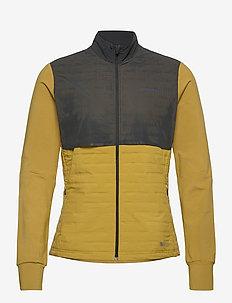 LUMEN SUBZERO JKT M - mid layer jackets - sencha/black
