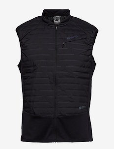 ZUBZ BODY WARMER M - insulated jackets - black