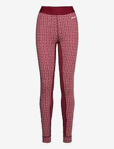MERINO 240 PANTS W - nederdelar - rhubarg/touch