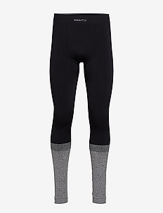 WARM INTENSITY PANTS M - BLACK/BLACK MELANGE