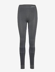 WARM INTENSITY PANTS W - löpnings- och träningstights - black/titanium