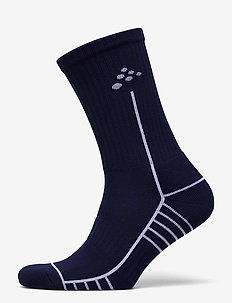 Progress Mid Sock - kousen - navy