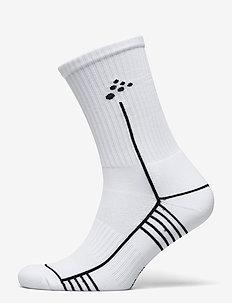 Progress Mid Sock - vanliga strumpor - white