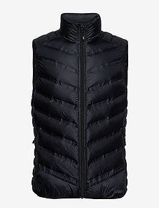 LT DOWN VEST M - BLACK