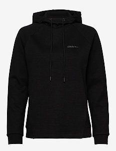ICON HOOD W - hoodies - black