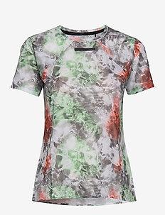 VENT MESH SS TEE W - t-shirty - multi/neo