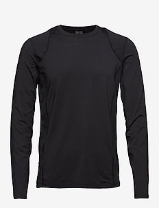 ADV ESSENCE LS TEE M - longsleeved tops - black