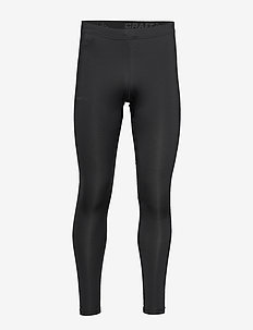 CORE ESSENCE TIGHTS M - sportleggings - black