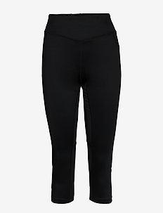 ADV ESSENCE CAPRI TIGHTS W - running & training tights - black