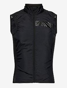 Essence Light Wind Vest M - friluftsjackor - black