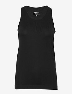 FUSEKNIT LIGHT SINGLET W - tank tops - black