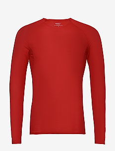 PRO DRY NANOWEIGHT LS M - langarmshirts - bright red