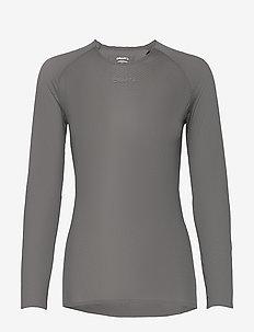 PRO DRY NANOWEIGHT LS W - bluzki z długim rękawem - granite