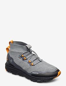 NORDIC FUSEKNIT HYDRO MID M - chaussures de randonnée - monument/tiger