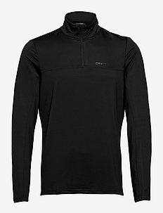 CORE Gain Midlayer M - langarmshirts - black