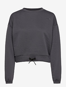 ADV CHARGE SWEATSHIRT W - bluzy i swetry - asphalt