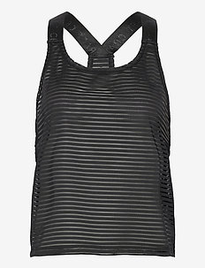 ASOME SINGLET W - tank tops - black