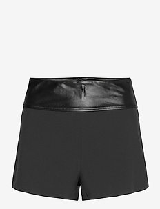 ASOME HIGH WAIST SHORTS W - training korte broek - black