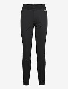ACTIVE EXTREME X WIND PANTS W - running & training tights - black/granite