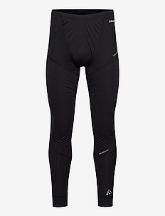 ACTIVE EXTREME X WIND PANTS M - running & training tights - black/granite