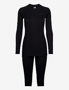 CORE WARM BASELAYER SET W - ensemble de sous-couche thermique - black